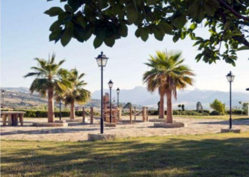 Casa rural villa minerva en ronda serrania de ronda for Jardin villa ronda